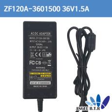 SMPS ZF120A-3601000 36V1.5A 54w 3구크로바케이블용  led  전원아답터