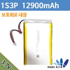 [리튬폴리머배터리]PR-626194N 3.7v 12900mah 3.7v12900mah/48Wh/ 3.7v38700mah 3.7v 38700mah 1s3p 하네스5핀