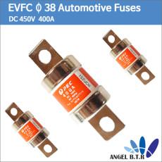 [중고][PEC퓨즈] EVFC Φ 38 400A  DC 450V  BC6000A 세이코 신 에너지 전기 자동차 퓨즈